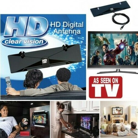 1+1 Gratis: Antena digitala HD-CD12, Interior, 1080p