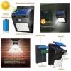 5 x Lampa 30 leduri  cu incarcare solara si senzor de miscare