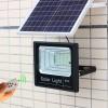 Proiector Solar Puternic 60W autonomie 12 h, cu Panou Solar si Telecomanda cu Functii Multiple, Negru