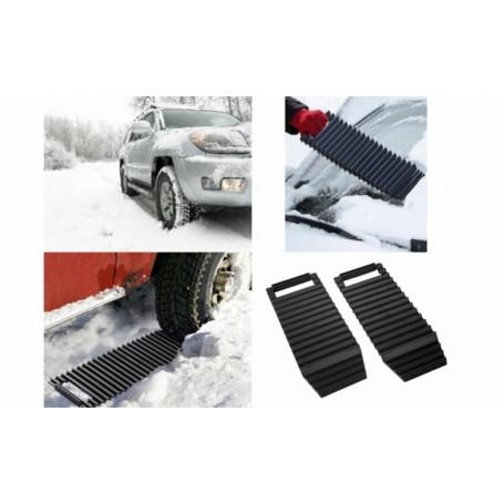 2 x Benzi antiderapante pentru automobil - pentru zapada sau noroi