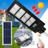 Pachet 4 x Lampa Stradala Proiector LED 30 W - 60 W - 90 W -120W  cu incarcare solara, picior metalic inclus